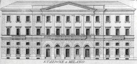 La demolizione della vecchia stazione del 1840 for Architettura classica